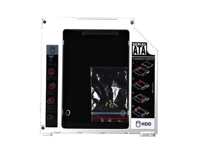 "2nd HDD Hard Drive Caddy Enclosure for Apple 2.5""/9.5mm SATA HDD or SSD fits: Macbook: MB466LL/A, MB467LL/A, MB881LL/A, MB240LL/A, ..."
