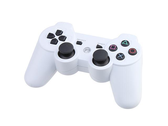 Wired/ Wireless Bluetooth Game Controller Game Console for Sony Playstation 3/ PS3 - White