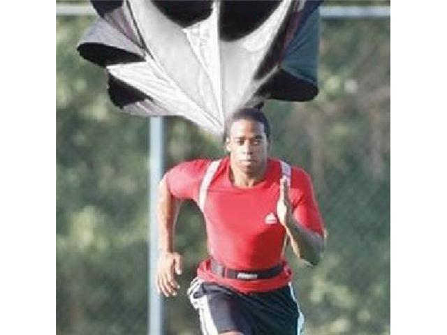 """56"""" -inch Speed Running Power Chute Training Resistance Exercise Parachute"""