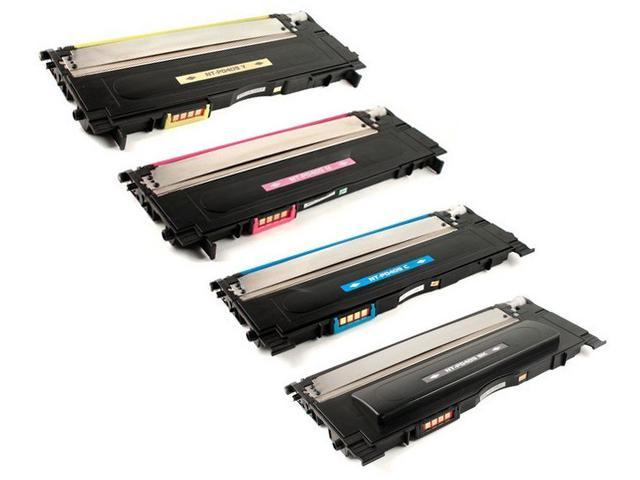 Compatible Toner to replace Samsung CLT-K407S, CLT-C407S, CLT-Y407S, CLT-M407S Laser Toner Cartridge for Samsung CLP-320, ...