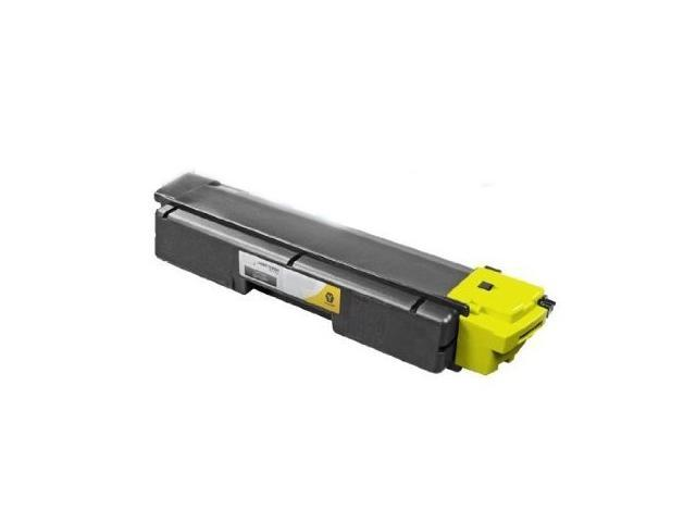 Compatible Kyocera-Mita TK-592Y Laser Toner Cartridge for your Kyocera-Mita FS-C5250DN, FS-C2026MFP & FS-C2126MFP Printer - Yellow(Aftermarket)