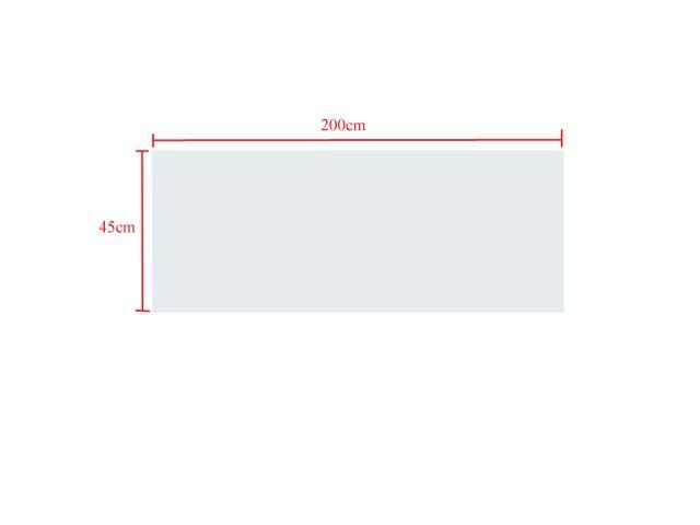 Wall Pops 200x45cm Dry Erase Board Removable Wall Paper Sticker Decal chalkboard Message Center Walls with 3 FREE Marker ...