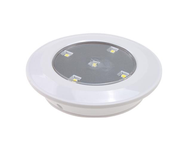 wireless battery powered led recessed undercabinet night puck light. Black Bedroom Furniture Sets. Home Design Ideas