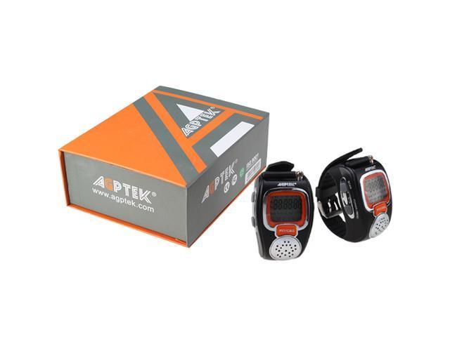 AGPtek® MT1 Two-way Fashionable Wrist-operated Wristwatch Walkie Talkie Wrist Watch - BEST Gift for Kids