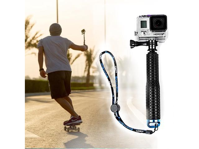aluminum alloy selfie stick monopod pov pole with rubber grip handle for gopro hero 1 2 3 3 4. Black Bedroom Furniture Sets. Home Design Ideas