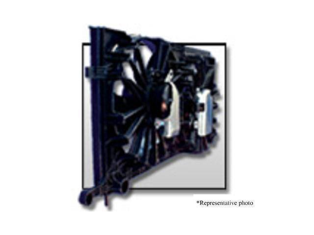 Toyota 09-10 Toyota Corolla 2.4L Radiator & Condenser Cooling Fan Assembly (1) Pc Replacement 2009,2010