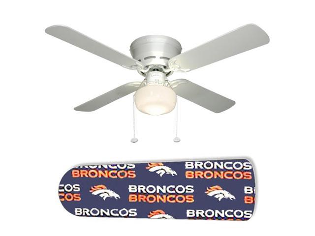 "Denver Broncos 42"" Ceiling Fan with Lamp"