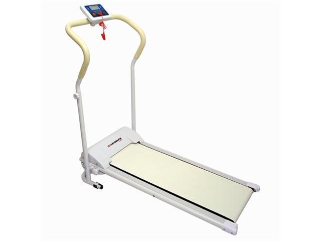 Confidence Power Plus Motorized Electric Treadmill (White)