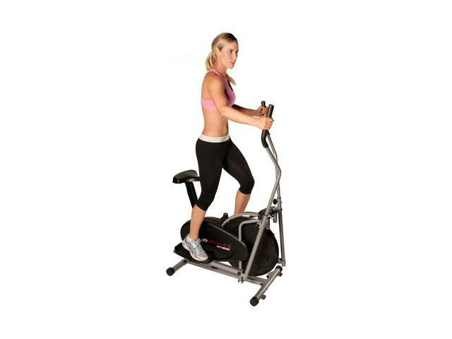 Confidence 2-in-1 Elliptical Cross Trainer & Exercise Bike