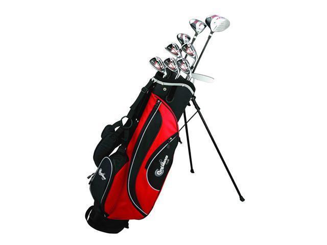 Confidence ESP Mens Graphite & Steel Hybrid Club Set + Stand Bag