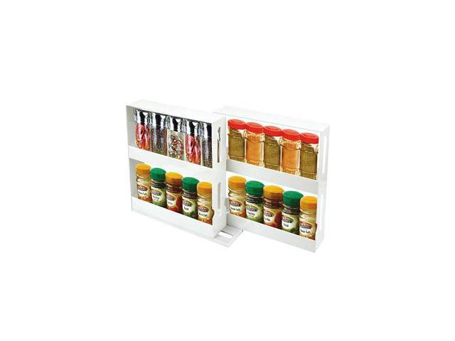 Store N More Swivel 20-Spice Organizer Rack