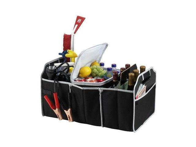 25KG Capacity Portable Collapsible Cooler Trunk Organizer