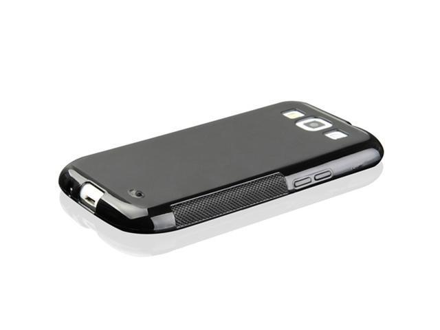 TPU Gel Silicone Skin Case Cover for Samsung Galaxy S3 III i9300 - Black