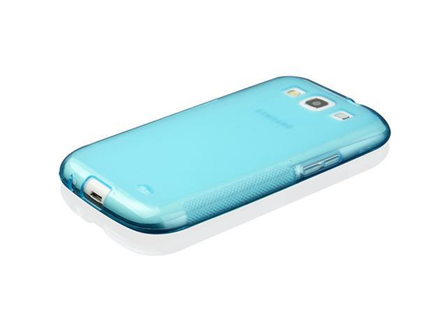 Blue TPU Gel Silicone Skin Case Cover for Samsung Galaxy S3 III i9300