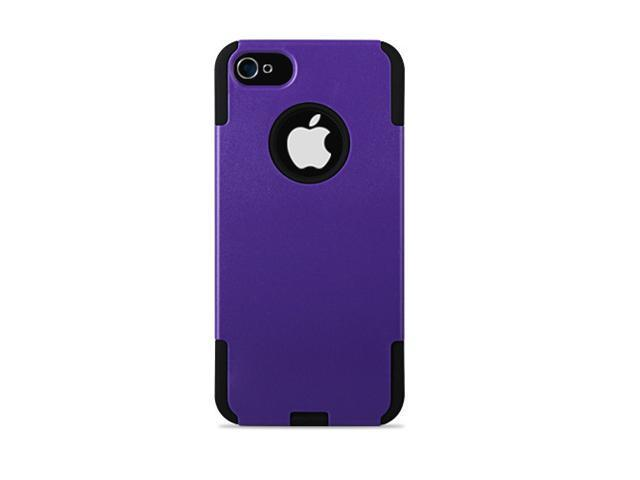 GPCT Apple iPhone 5 Hard Hybrid Case Cover Rubberized Silicone - Purple