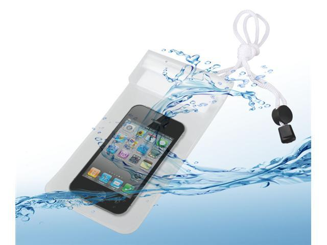 PVC Waterproof Bag White Case For iPhone 4 4S 5 Phone Samsung HTC Acer