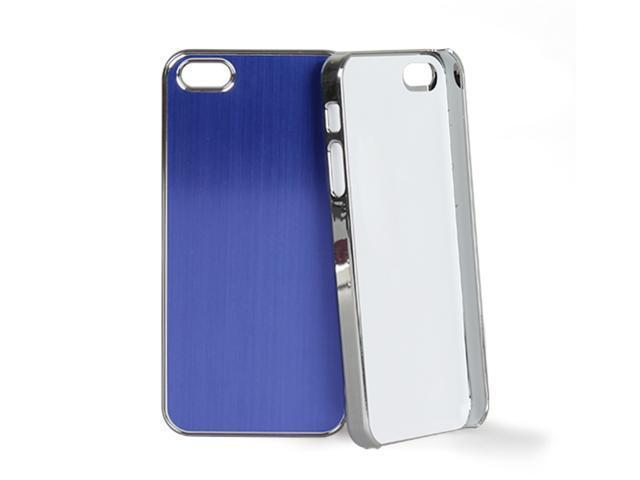 GPCT Luxury Brushed Metal Aluminum Chrome Hard Case For iPhone 5 (Purple)