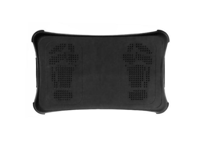 Nintendo Wii Fit Board Anti-slip Grip Foot Pad Silicone Skin Protects - Black