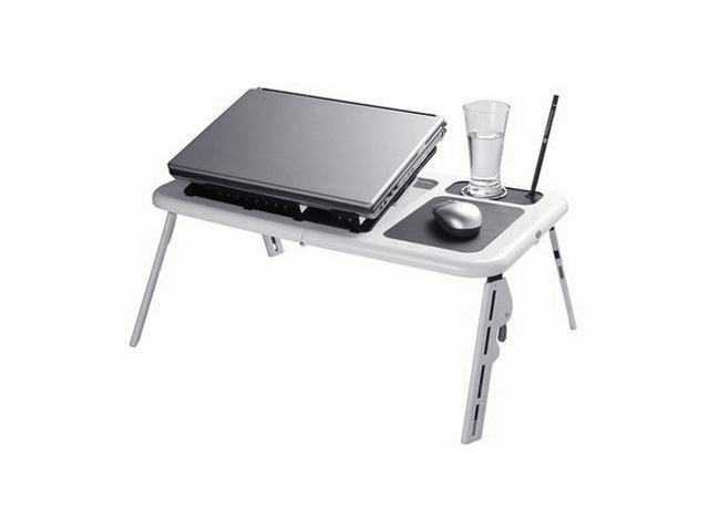 iMounTEK LPT1079 Foldable Tray Table Desk with Cooling Fan for Laptop or NoteBook