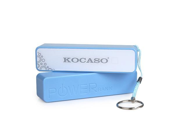 Kocaso 2600mAh Power Bank for mobile phone or other Electronic Products-Blue