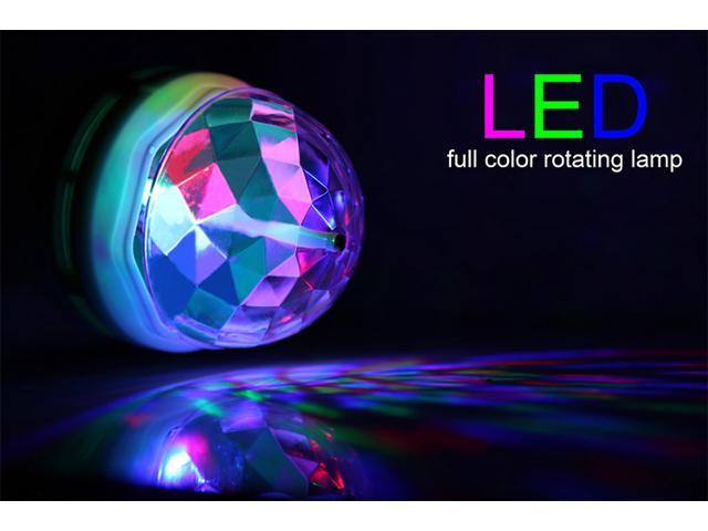 Auto color changing led party lights dance lighting show magic bulb