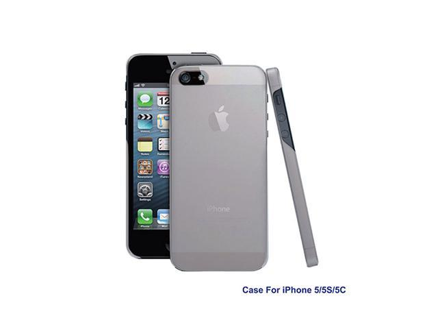 GPCT Washable Hard Snap On TPU Cover Case Holder for Apple iPhone5 - White
