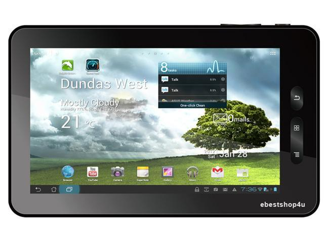 """Kocaso 760 Android 4.0 7"""" Capacitive Touch Tablet PC - 1.2Ghz, 4GB HDD, 1GB DDR3, Wi-Fi (Black)"""