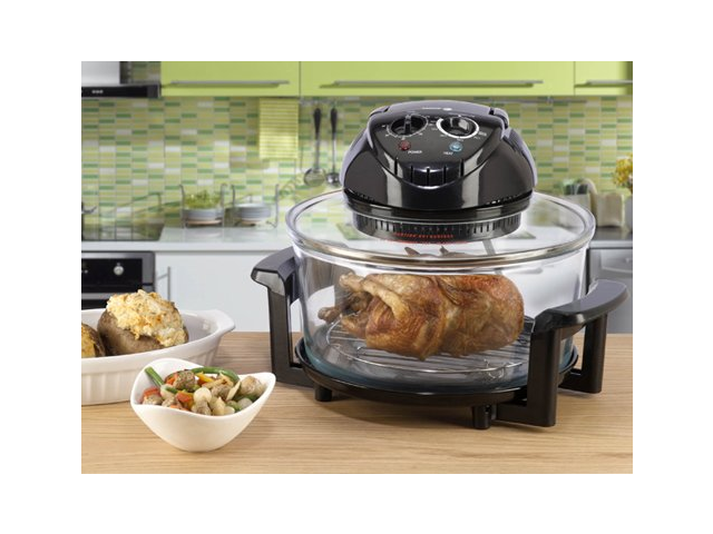Fagor 670040380 12 Quart Halogen Tabletop Oven, Black