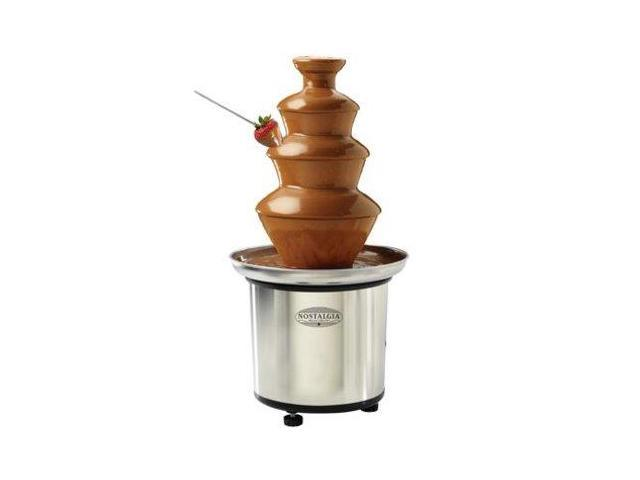 Nostalgia Electrics CFF-986 3-Tier Chocolate Fondue Fountain