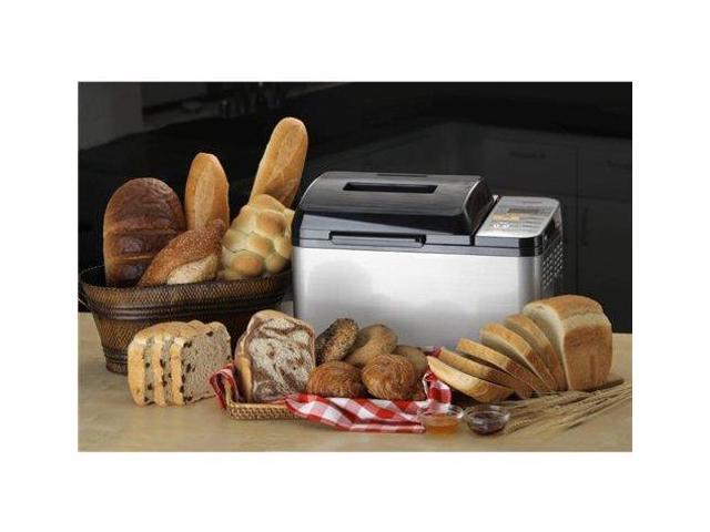 Zojirushi 2-lb. Stainless Steel Home Bakery Virtuoso Breadmaker