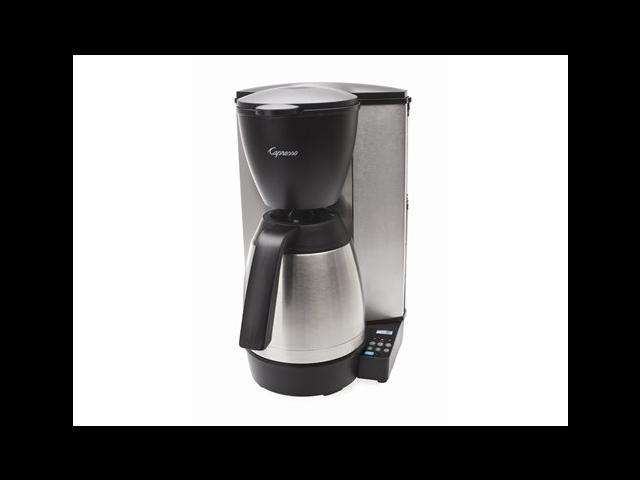 Jura-Capresso Thermal Coffee Maker, Black & Stainless Steel