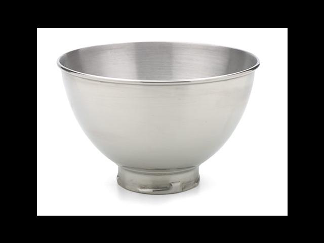 KitchenAid KB3SS Polished Stainless Steel Bowl 3Qt. fits Tilt-Head Mixer Silver
