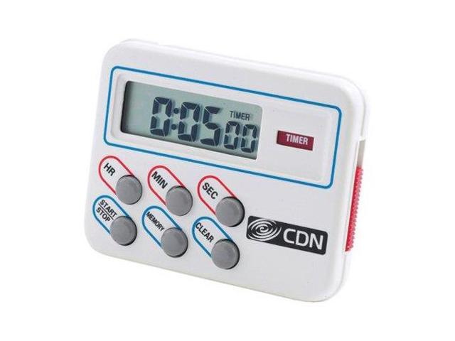 CDN TM8 Digital Timer and Clock Memory Feature