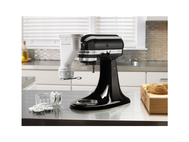 KitchenAid KPEXTA Gourmet Pasta Press White