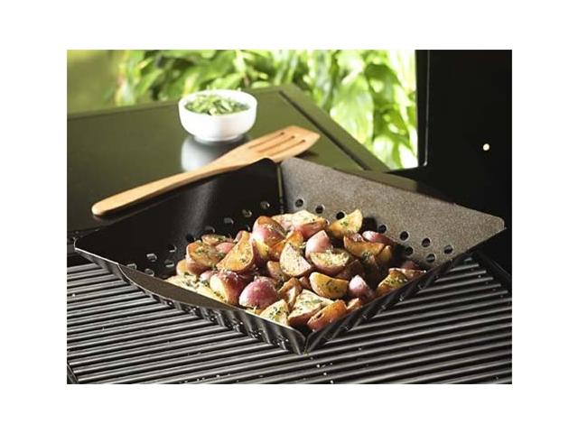 Nordic Ware 14 x 12-in. Grill 'n Shake Grill Basket