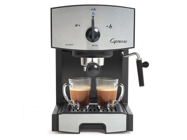 Jura-Capresso Stainless Steel EC50 Pump Espresso and Cappuccino Machine