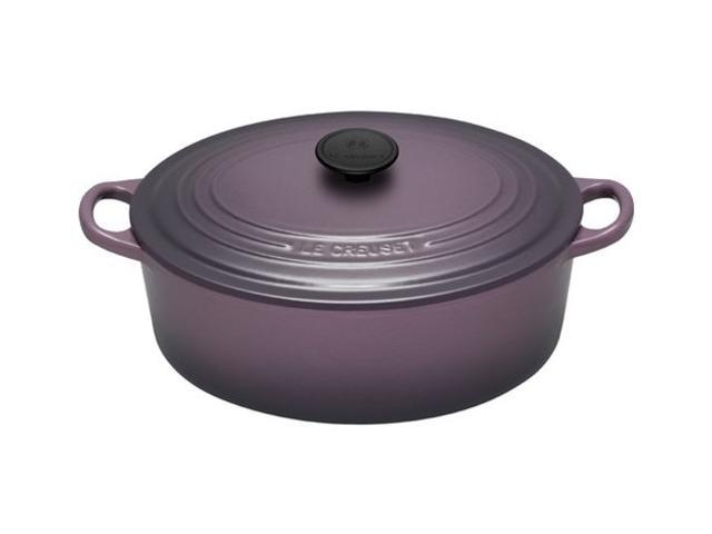 Le Creuset 5-qt. Oval Cast-Iron Signature Enameled French Oven, Cassis