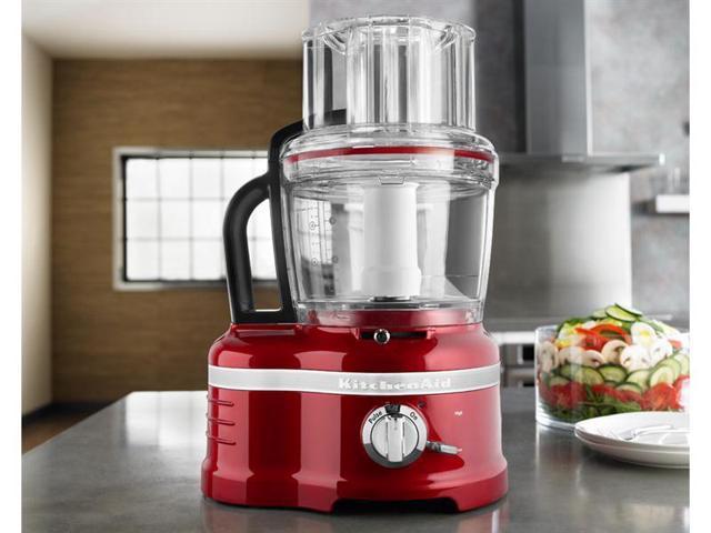 KitchenAid 16-c. Pro Line Food Processor, Candy Apple Red