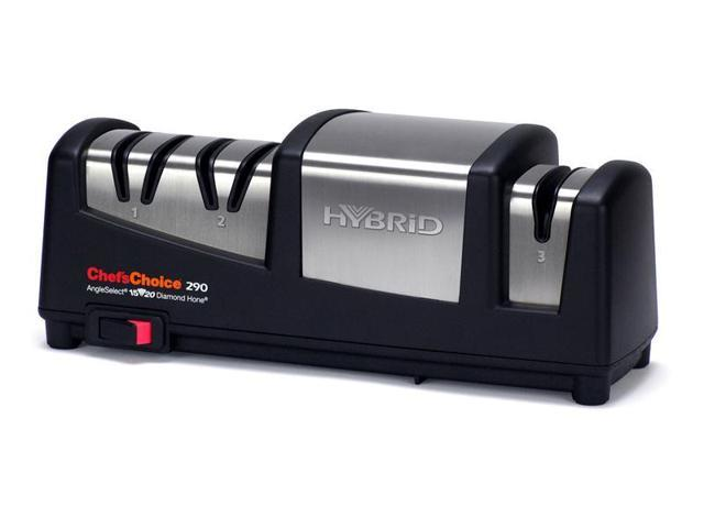 Chef'sChoice Hybrid AngleSelect Diamond Hone Electric Knife Sharpener