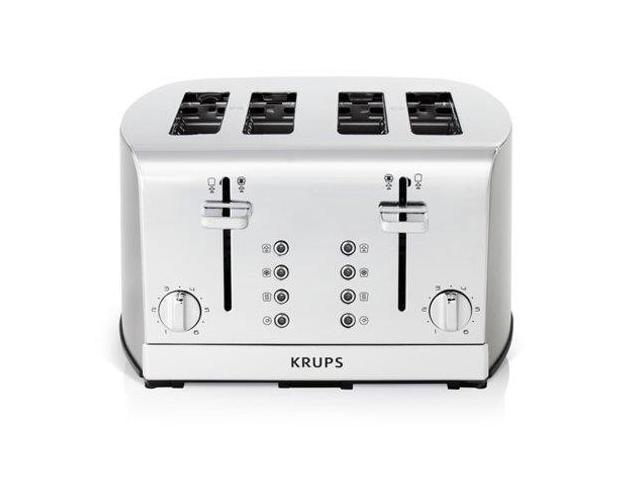 Krups 4-slice Signature Series Stainless Steel Toaster