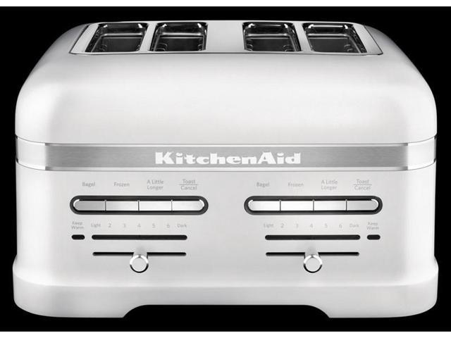 KitchenAid 4 slice Pro Line Toaster Frosted Pearl White Newegg