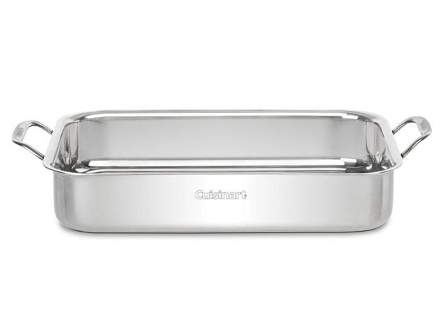 Cuisinart 14-in. Stainless Steel Chef's Classic Roaster with Rack