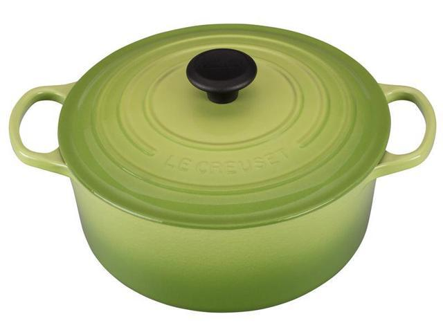Le Creuset 5.5-qt. Round Cast-Iron Signature Enameled French Oven, Palm
