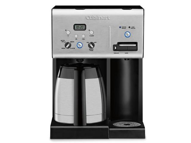 Cuisinart 10-c. Coffee Plus Thermal Programmable Coffee Maker with Hot Water System - Newegg.com
