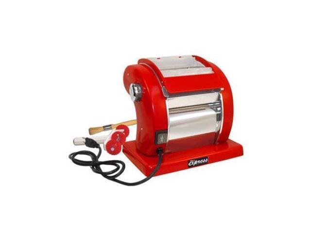 Weston Roma Electric Pasta Machine, Red
