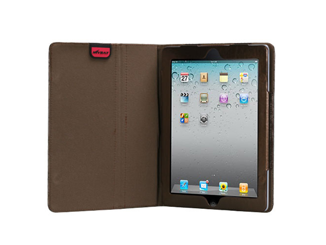 Luxury Coffee Bronze Quilted MyJacket Cover Case for iPad 2 3 or 4 Retina