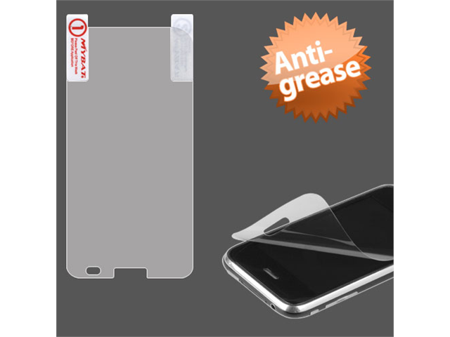 Clear Anti-grease LCD Screen Protector Cover Film for Samsung T959 Vibrant