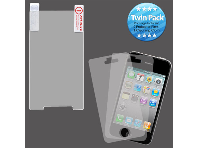 2x LCD Screen Cover Protector Film with Cloth Wipe for Motorola Triumph