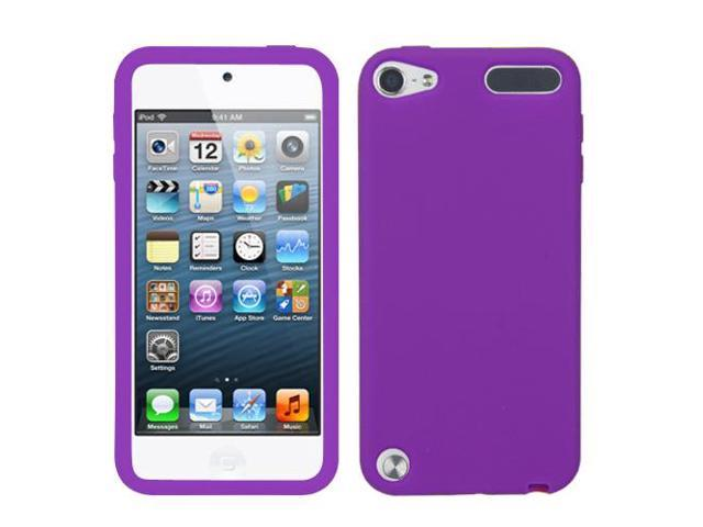 Electric Purple Solid Skin Cover Protector Case iPod Touch 5th Generation
