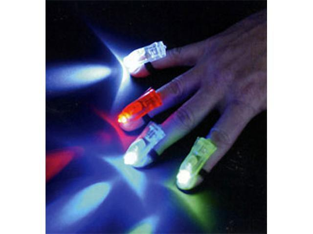 4-Pack Finger Lights Laser Beams